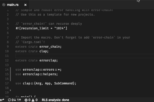 Rust Language Server